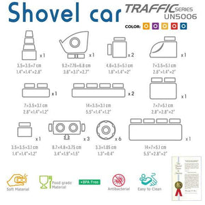 Traffic series - Shovel Car