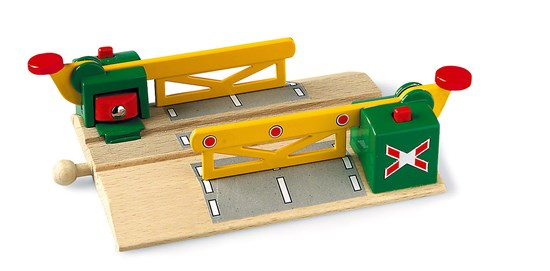 Magnetic Action Crossing for Railway