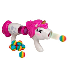 Load image into Gallery viewer, Unicorn Power Popper - Rapid Fire Rainbow Blaster