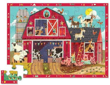 Load image into Gallery viewer, Barnyard 123-36 Piece Jigsaw Floor Puzzle