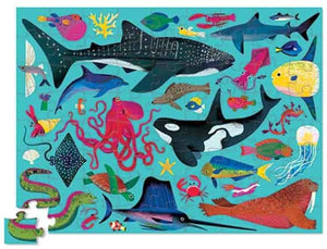 Sea Animals - 72 Piece Jigsaw Puzzle