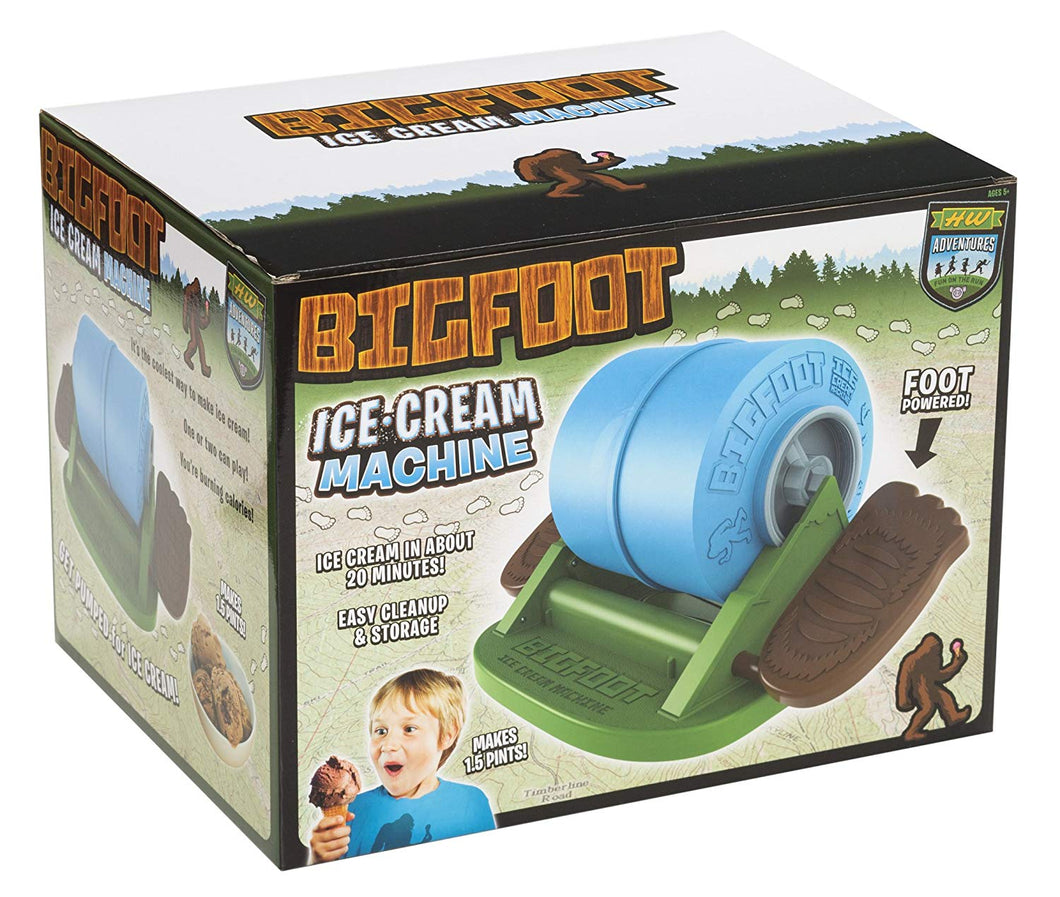 Hog Wild Big Foot Ice Cream Maker