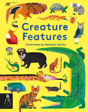 Book Cover of a variety of animals colorfully drawn portland childs book store