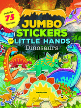 Load image into Gallery viewer, Jumbo Stickers for Little Hands: Dinosaurs