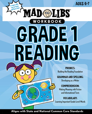 Mad Libs -Reading Workbook