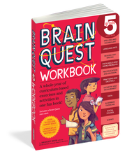 Load image into Gallery viewer, Brain Quest Workbook: Grade 5