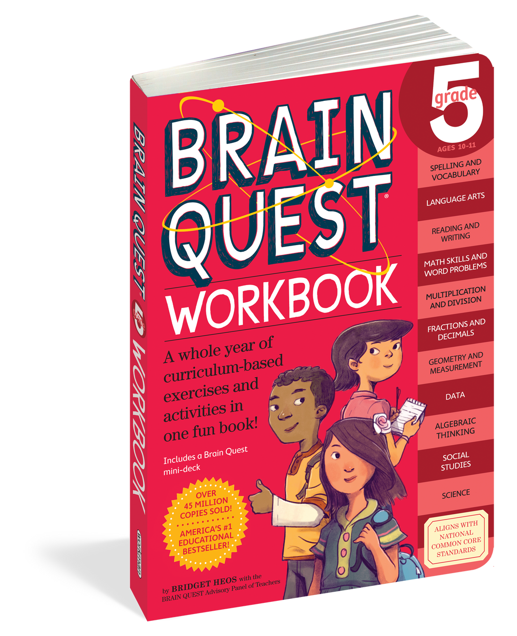 Brain Quest Workbook: Grade 5