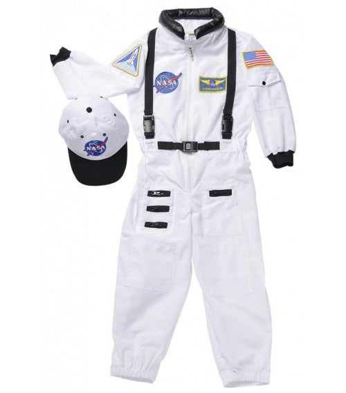 Jr. Astronaut Suit w/Embroidered Cap
