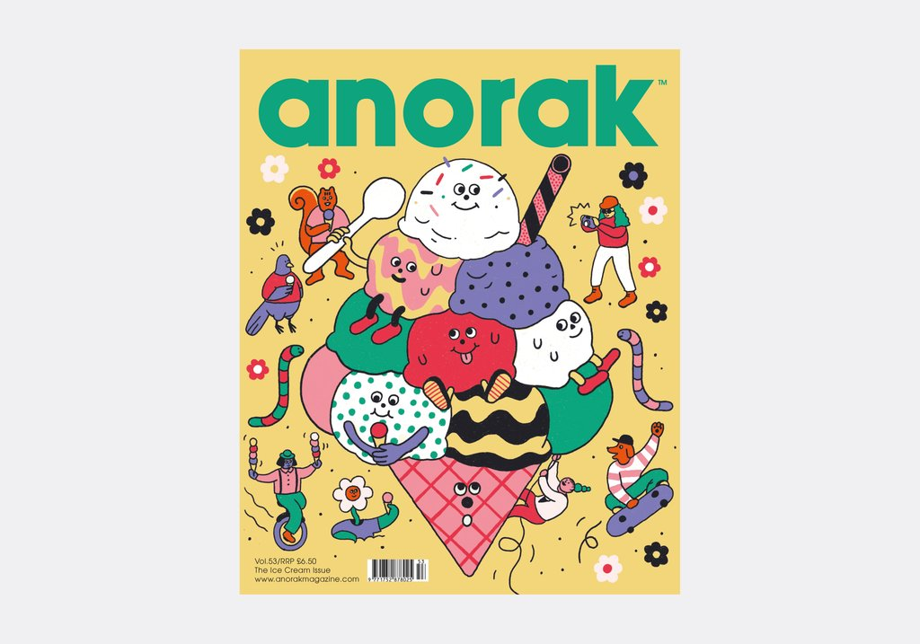 Anorak Magazine - Ice Cream - Issue 53