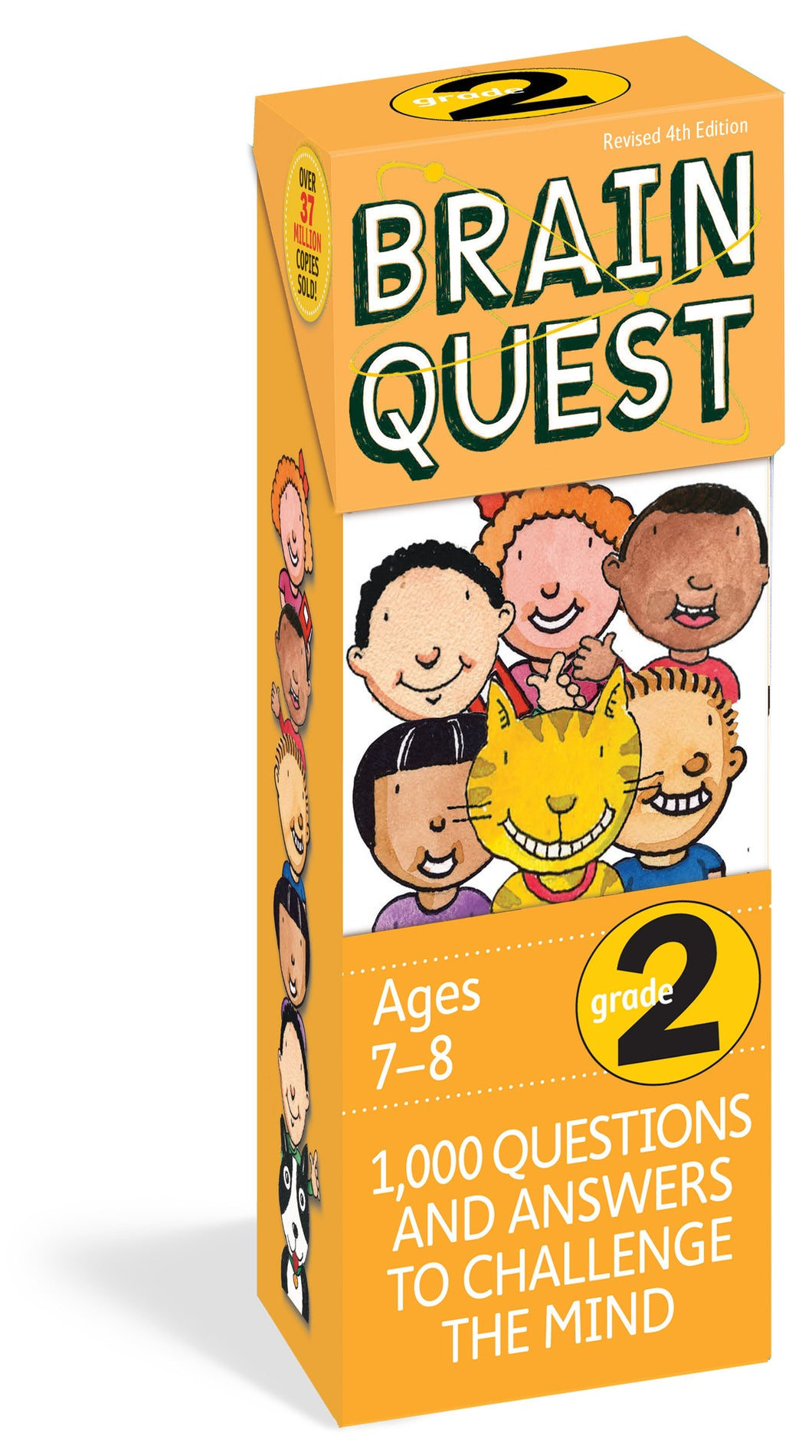 Brain Quest 2nd Grade Q&A Cards