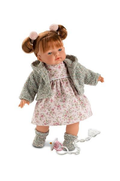 Clare - Auburn Crying Doll 13 inches