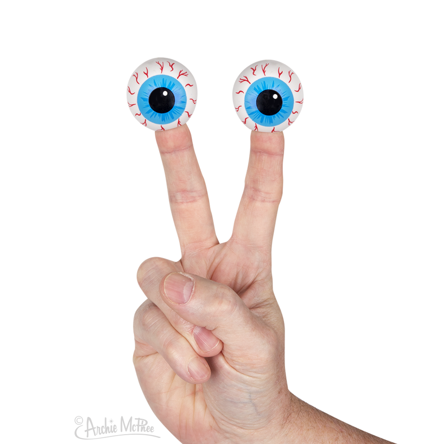 Eyeball Finger Puppets