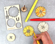 Load image into Gallery viewer, SUNFLOWER SPINNING TOP KIT