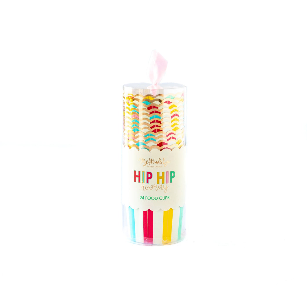 HIP HIP HOORAY BAKING/TREAT CUPS