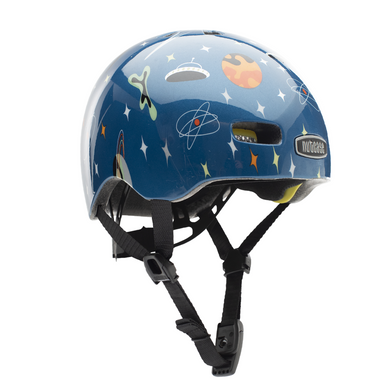 bike helmet for baby with atomic space decorations