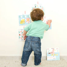 Load image into Gallery viewer, Poppik Baby In The City 6 Cards + 96 Stickers (2 Years and up)