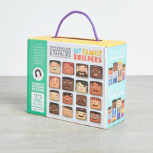 Load image into Gallery viewer, My Family Builders Mix & Match Wooden Blocks (32pc)