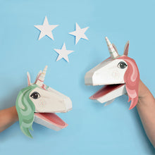 Load image into Gallery viewer, Create Your Own Unicorn Puppet