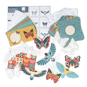 MAKE YOUR OWN BIRD & BUTTERFLY POP UP CARDS