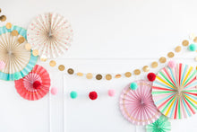 Load image into Gallery viewer, COLORFUL POM POM BANNER