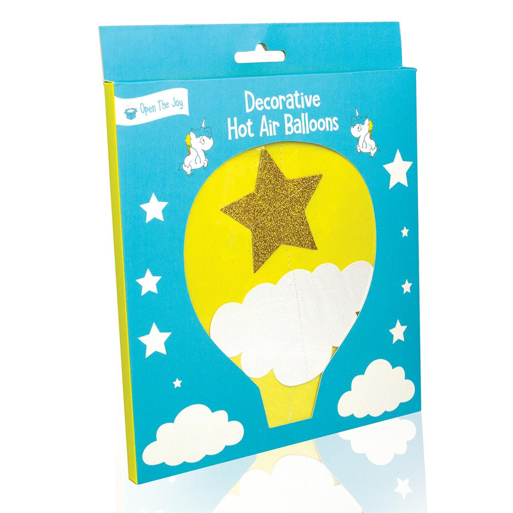 Hot Air Balloon Room Decoration Kit