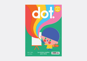 Dot: Happy Magazine for Preschoolers - (Spanish Edition)- Colours - Volume 2