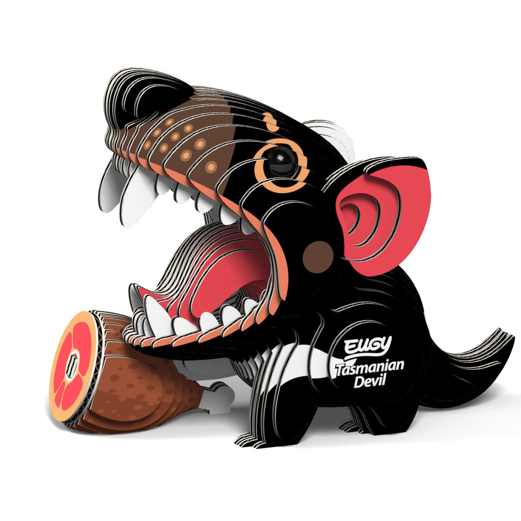 Tasmanian Devil 3D Puzzle - Miniature Animal Kit