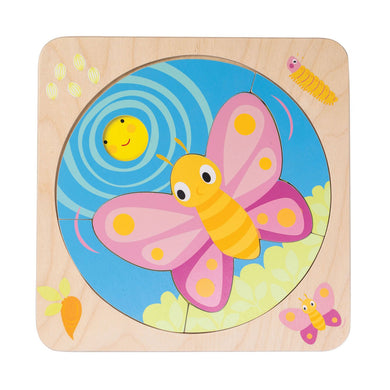 Butterfly Life Wood Puzzle