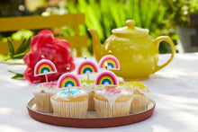 Load image into Gallery viewer, Rainbow Brights Rainbow Shaped Candles