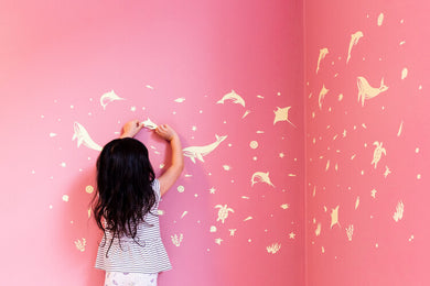 GloPlay - glow-in-the-dark wall stickers