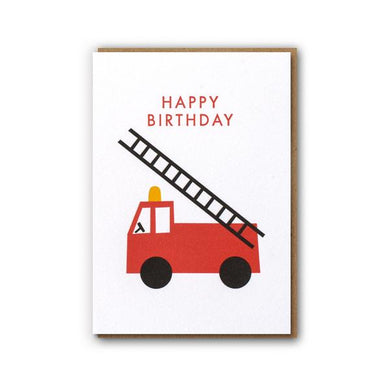 Fire Engine - Card