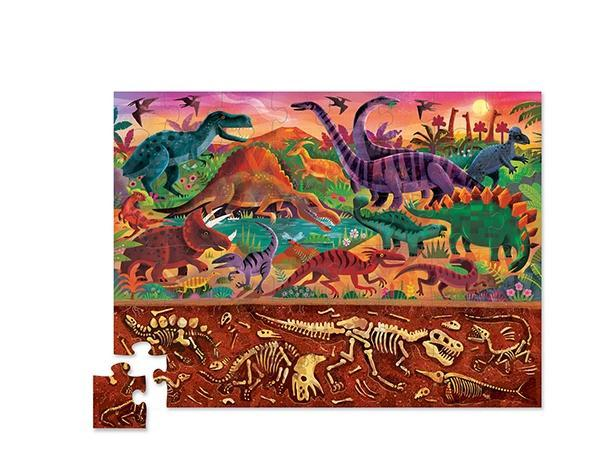 Above + Dinosaur World - 48 Piece Giant Floor Puzzle