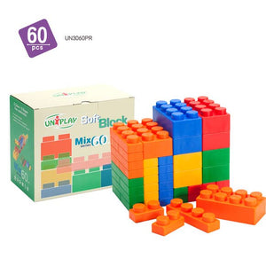 MIX Jumbo Soft Building Blocks 60pcs