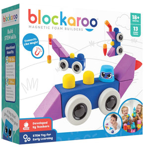Roadster - Blockaroo Magnetic Foam Blocks