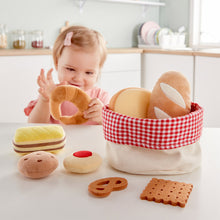 Load image into Gallery viewer, Bread set with Basket - 9 pc