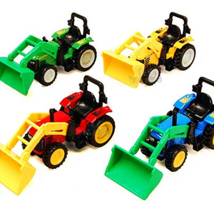 "6"" Die-Cast Tractor with Scoop"