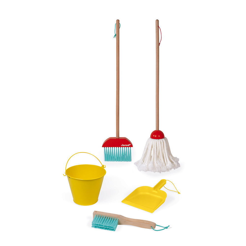 Mop and Broom - Cleaning Set