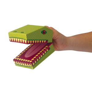 CREATE YOUR OWN DINOSAUR PUPPETS