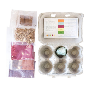 Eco-Eggs Coloring & Grass Growing Kit