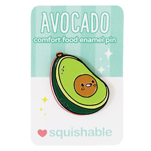 Avocado Comfort Food Enamel Pin