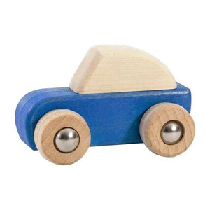 Wooden Pull Back Car