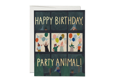 Animal House - Birthday Card