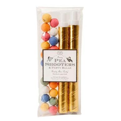 Fancy Pea Shooters (includes 2 tubes)