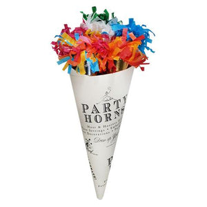 Party Horn Bouquet Multi-Color 9""