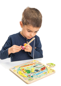 Pond Dipping Magnetic Game