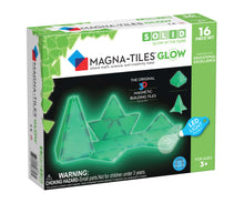 Load image into Gallery viewer, Magna-Tiles® Glow in the Dark 16-Piece Set