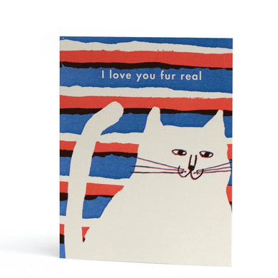 Fur Real, love card