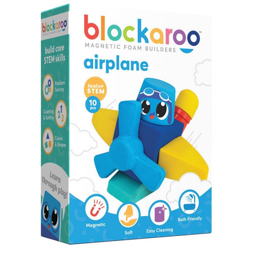 Airplane - Blockaroo Magnetic Foam Builders