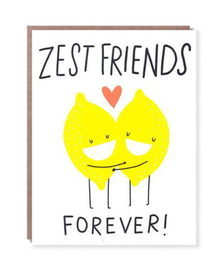 Zest Friends Forever, Card