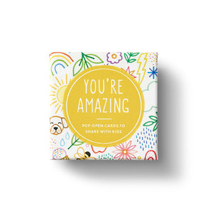 You're Amazing - Pop-open cards time share with kids